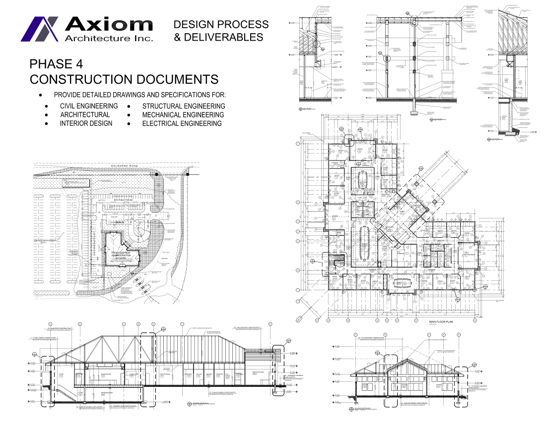 Axiom Architecture Inc Phase 4 Construction Drawings